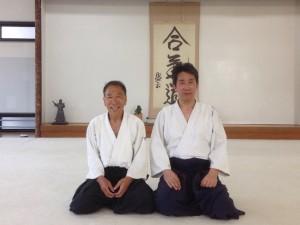 with Chiyoda Sensei
