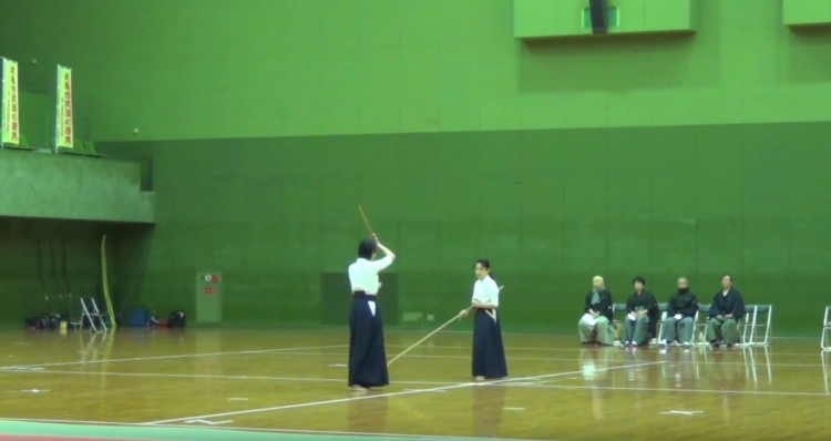 3.中級者演武